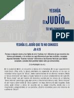 YESHÚA, EL JUDIO QUE TU NO CONOCES