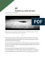 Nuno Ramos - Duplo apocalipse [Folha 03.05.2020]