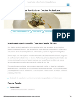 Estudiar Postitulo en Cocina Profesional _ Instituto Gato Dumas
