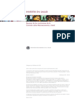 Comisión Macroeconomía y Salud