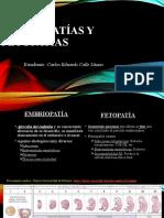 EMBRIOPATÍAS Y FETOPATÍAS.pptx