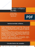 Semiconvertidor trifásico AC EXPOC