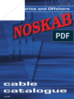 Noskab Cable Catalogue June 09