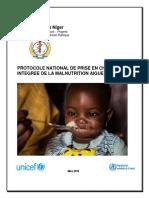 Protocole nat PEC Nutrition_Niger 2016_VF
