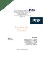 PEPELES DE TRABAJO