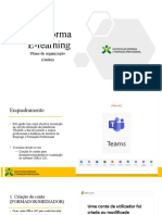 Tutorial de apoio E-Learning IEFP