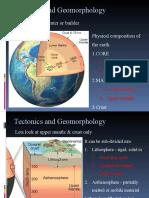 MODULE 3.2 - TECTONICS AND GEOMORPHOLOGY