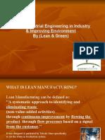 Lean & Green Ppt 1