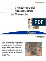 Aspectos históricos del  desarrollo industrial
