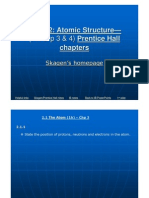 2 Atomic Structure