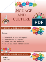 Culture and Translation- a powerpoint presentation