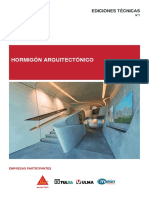 hormigon arquitectonico
