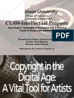 Case Study 2- Copyright in the Digital Age & Keeping Track of Things With MAMORIO