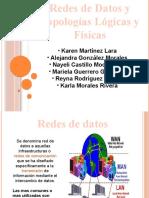 Redes de Datos y Topologías Lógicas y Físicas