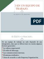 EL ÉXITO EN UN EQUIPO DE TRABAJO-1.pptx