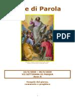 Sete di Parola - VII Settimana di Pasqua - A.doc