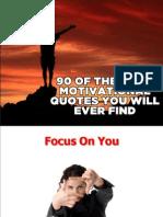 90 Motivational Quotes