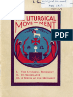 The Liturgical Movement (tract, 1930)