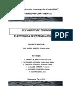 INFORME N°10 - GRUPO N°2  DE ELECTRONICA DE POTENCIA