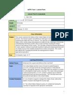 edtpa lesson 5  assessment