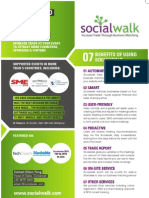 Socialwalk Business Matching Brochure 1 page