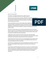 Carta Sindicato Médico de Rivera