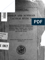 German and Austro-Hungarian Tactical Studies_WWI_Translations