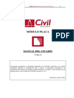 CivilEstudio. Manual del Usuario. Módulo Placa.pdf
