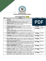 LISTA DE APRESENTACOES -  IGRH - LABORAL