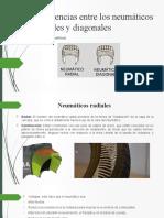 Neumáticos Radiales y Diagonales