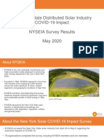 NYSEIA COVID-19 Impact Survey Results - May 2020