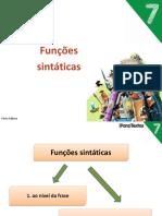 7POR_Funções Sintáticas