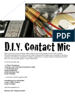 D.I.Y. Contact Microphone