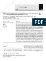 Implications for forensic death investigations