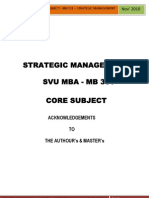 MB 301 - Strategic Mgmt-Edit1-210 Pages