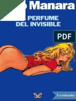 El perfume del invisible - Milo Manara