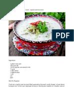 Cacik – supă de iaurt turcească