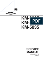 Kyocera km-3035 / km-4035 / km-5035 service repair man.