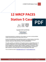 12 MRCP PACES Station 5 cases