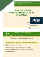 La Evaluación de Riesgos Ambientales en la Empresa PYME.pdf