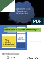 Clasificación de las Ecuaciones Diferenciales.pptx