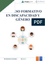 Guía operativa para el curso discapacidad y género - Agosto 3