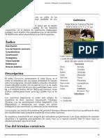 Carnivora - Wikipedia, la enciclopedia libre
