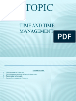 TIME AND TIME MANAGEMENT.pptx