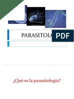 Clase virtual No. 1. Parasitología