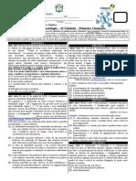 PROVA SOCIOLOGIA 3 UNIDADE PRIMEIROS ANOS - 2 CHAMADA