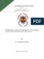 Factores que Inciden en la Matricula de la UCYT Primer Ingreso 30 03 17 12 00  pm.docx