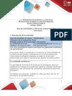 Guía de actividades y rúbrica de evaluación - Unidad 2 - Fase 4 - Conclusión.pdf
