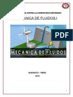 MECANICA DE FLUIDOS INFORME-CARATULA