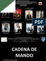 NUEVA CADENA DE MANDO
